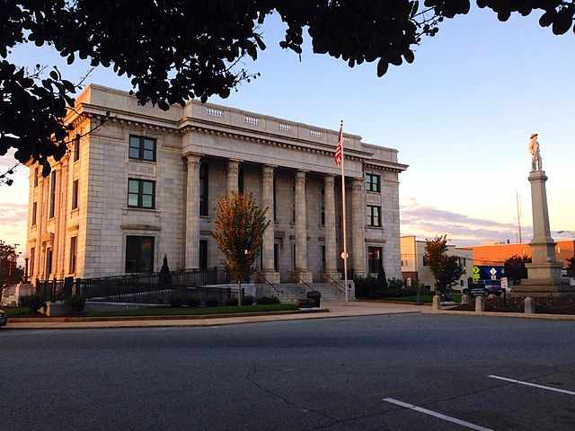 Alamance County Traffic Courthouse in Graham,NC