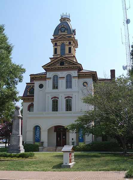 Cabarrus County Traffic Courthouse in Concord, NC