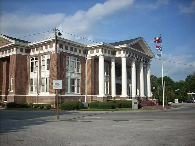 Columbus County Traffic Courthouse in Whiteville, NC