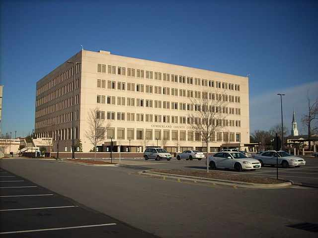 Cumberland County Traffic Courthouse in Fayetteville, NC
