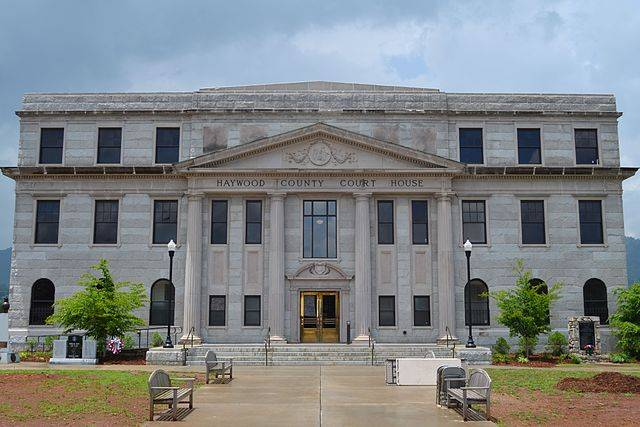 Haywood County Traffic Courthouse in Waynesville, NC