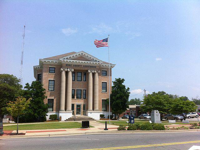 Hoke County Traffic Courthouse in Raeford, NC