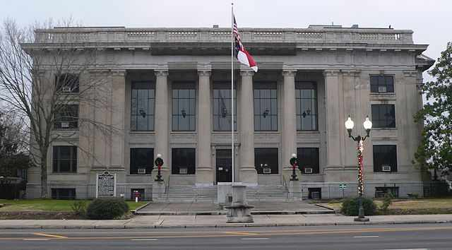Johnston County Traffic Courthouse in Smithfield, NC