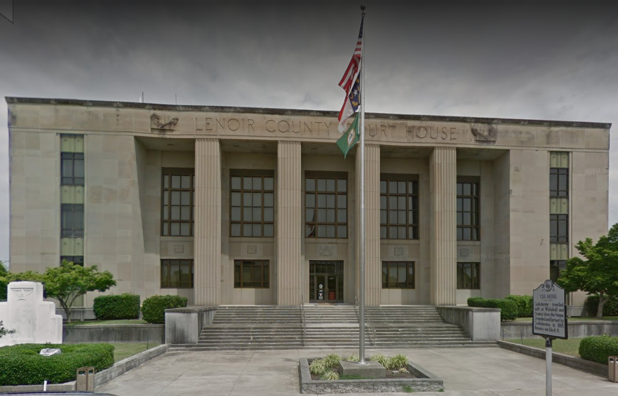 Lenoir County Traffic Courthouse in Kinston, NC