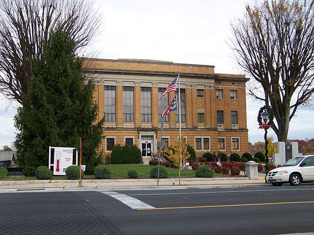 McDowell County Traffic Courthouse in Marion, NC