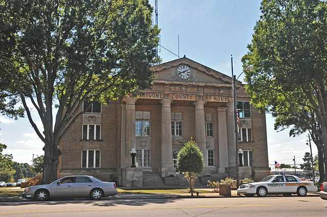 Montgomery County Traffic Courthouse in Troy, NC