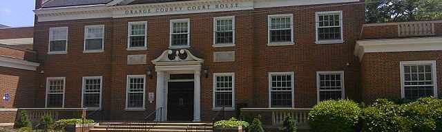 Orange County Traffic Court in Hillsborough NC