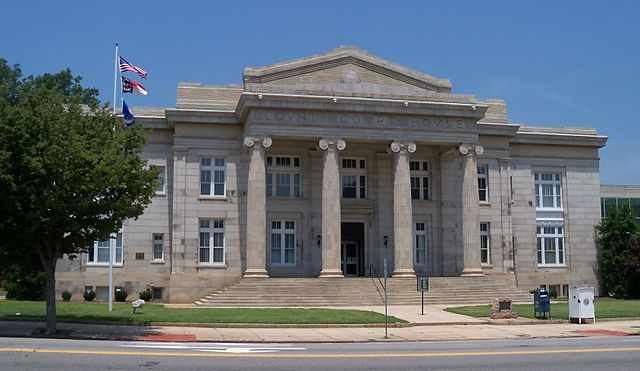 Rowan County Traffic Courthouse in Salisbury, NC