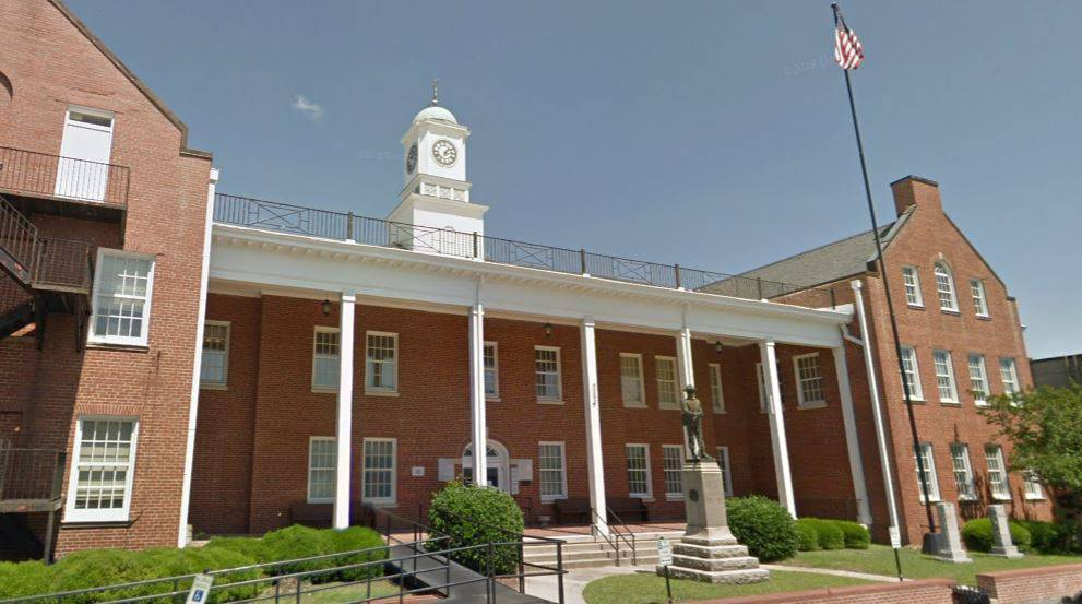 Sampson County Traffic Courthouse in Clinton, NC