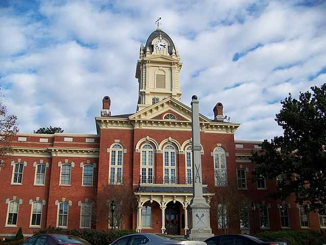 Union County Traffic Courthouse in Monroe, NC