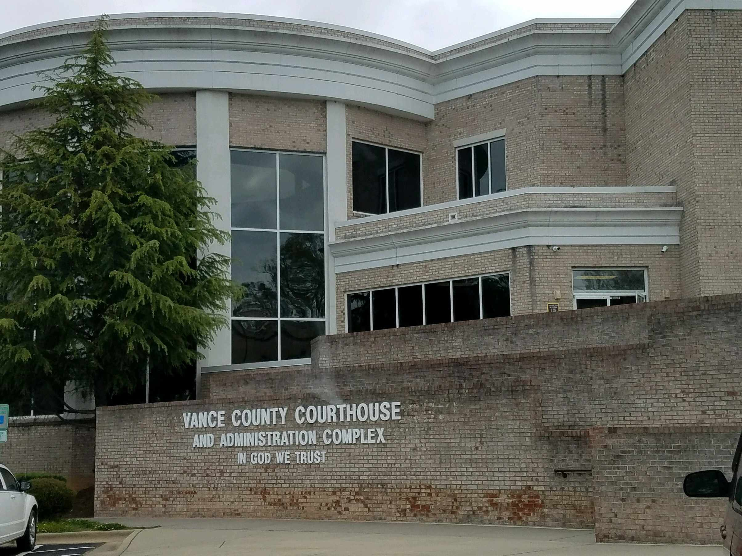Vance County Traffic Courthouse in Henderson, NC